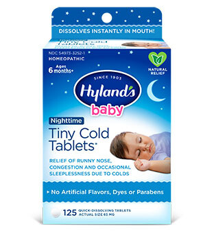 Baby Nighttime Tiny Cold - 125 Tablets