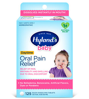 Baby Oral Pain Relief - 125 Tablets
