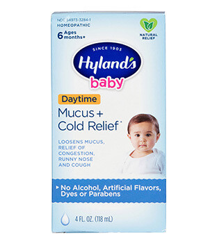 Baby Mucus + Cold Relief - 4 fl oz
