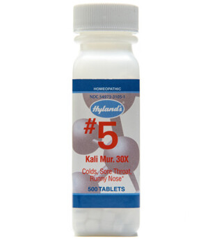 Cell Salts #5 Kali Mur - 500 Tablets