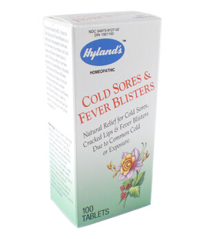 Cold Sores & Fever Blisters - 100 Tablets