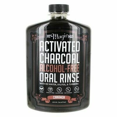 Activated Charcoal Oral Rinse Cinnamon - 14.2 oz