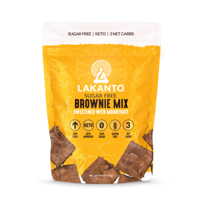 Lakanto Monk Fruit Brownie Mix - 9.7 oz.