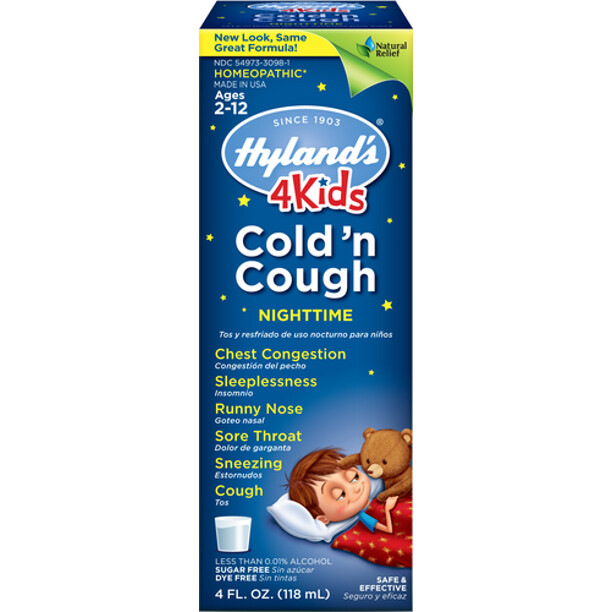 4 Kids Cold 'n Cough Nighttime - 4 fl oz