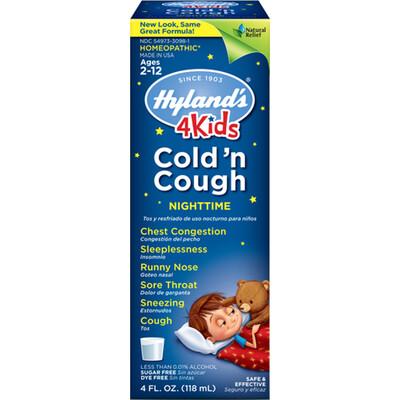 4 Kids Cold 'n Cough Nighttime - 4 fl oz