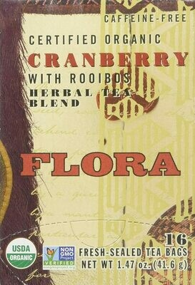 Cranberry with Rooibos - 63752 - 16 teabags