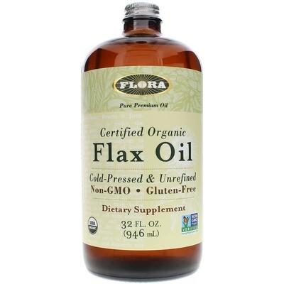 Flax Oil Certified Organic 32 oz  - 67898