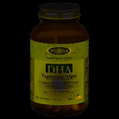 Flora DHA Vegetarian Algae GreenCaps - 61422 - 60 caps