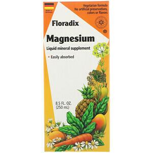 Floradix Magnesium, 8.5 oz, liquid, vegetarian formula