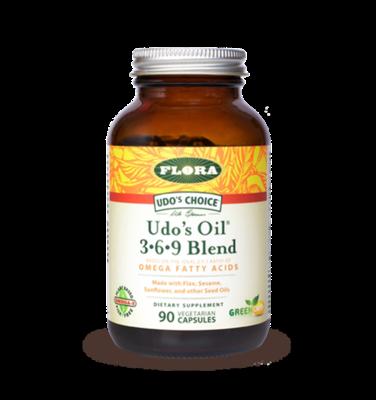 Udo's Oil 3.6.9 Blend  - 61580 - 90 caps