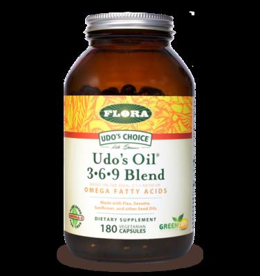 Udo's Oil 3.6.9 Blend  - 61582 - 180 caps