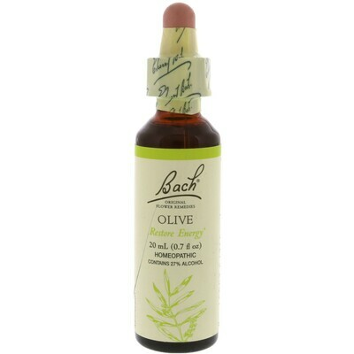 Bach Flower Olive Restore Energy
