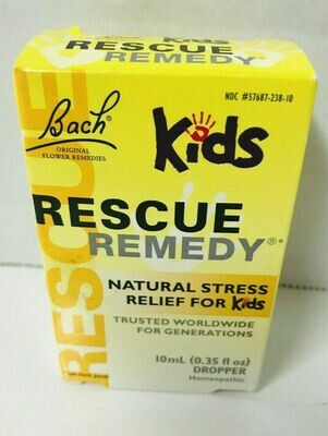 Bach Kids Rescue Remedy Natural Stress Relief - 10 mL