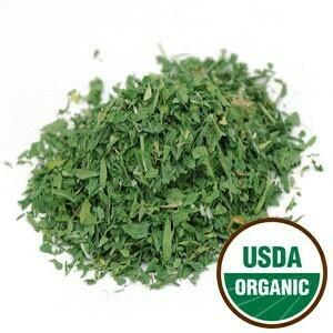 Alfalfa Leaf C/S Organic SKU: 209130-34 4 oz.