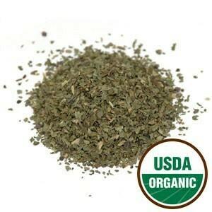 Basil Leaf C/S Organic SKU: 209720-31 1 lb.