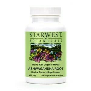 Ashwagandha Root Capsules SKU: 498216-06 Size: 100/btl