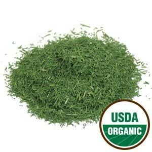 Dill Weed Organic SKU: 209830-33 1 oz