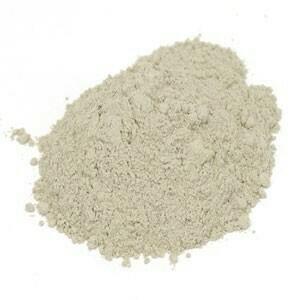 Bentonite Clay Food Grade 1lb. SKU 210045-51