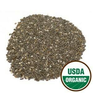 Chia Seed Organic 4 oz. SKU: 209203-04