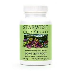 Dong Quai Root Capsules SKU: 498360-06 Size: 100/btl