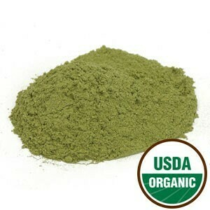 Comfrey Leaf Powder Organic SKU: 209225-54 4 oz