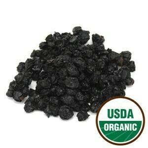 Elder Berries Organic SKU: 209290-01 Size: 1 lb
