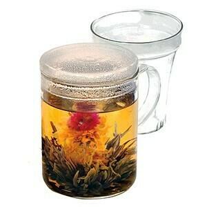 Glass Tea Maker Mug with Infuser