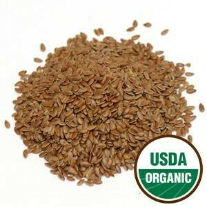 Flax Seed Whole 4 oz. Organic SKU: 209315-04