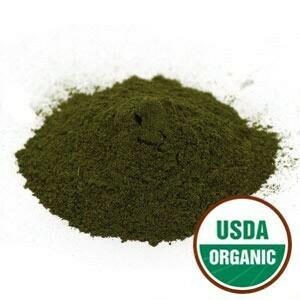 Goldenseal Leaf Powder Organic 4 oz. SKU: 209332-54