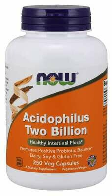 Acidophilus, Healthy Intestinal Flora - 100 Veg Capsules