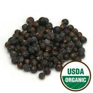 Juniper Berries Organic 4 oz. SKU: 209375-04