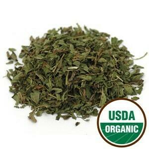 Peppermint Leaf C/S Organic 4 oz SKU: 209500-34