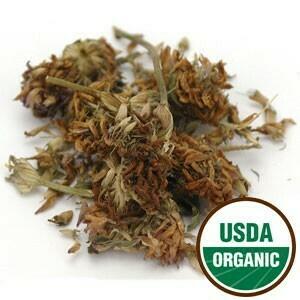 Red Clover Blossom Whole Organic 4 oz SKU: 209525-04