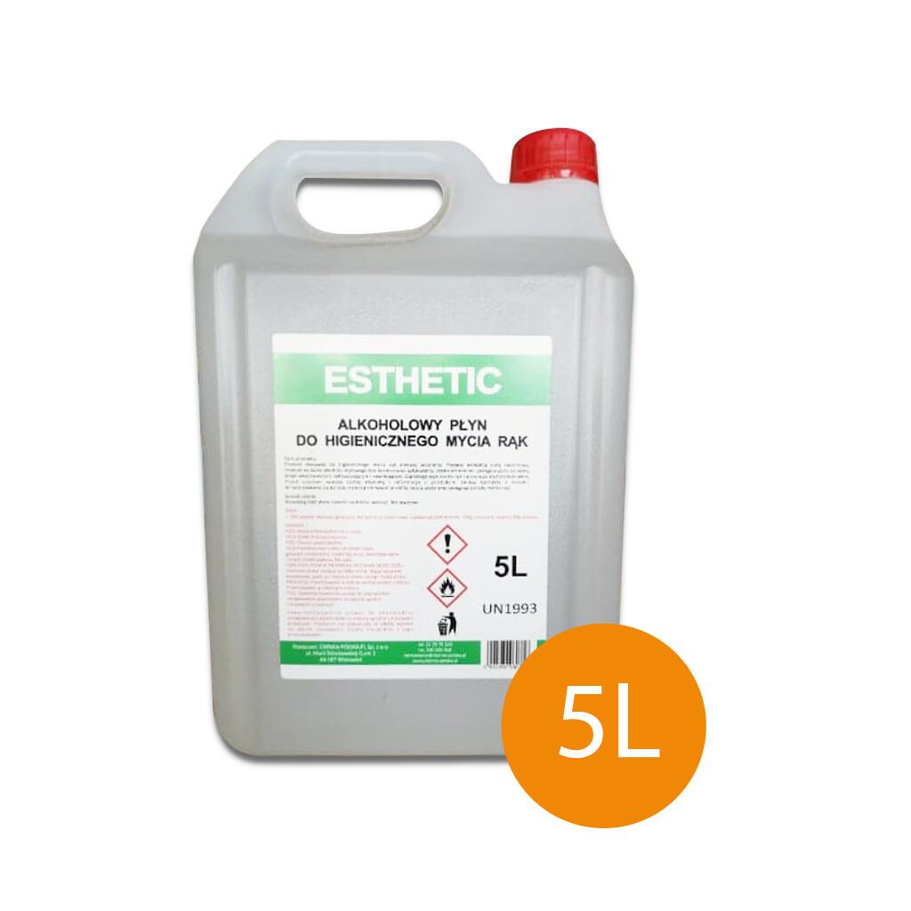 Płyn do dezynfekcji rąk Esthetic   5L