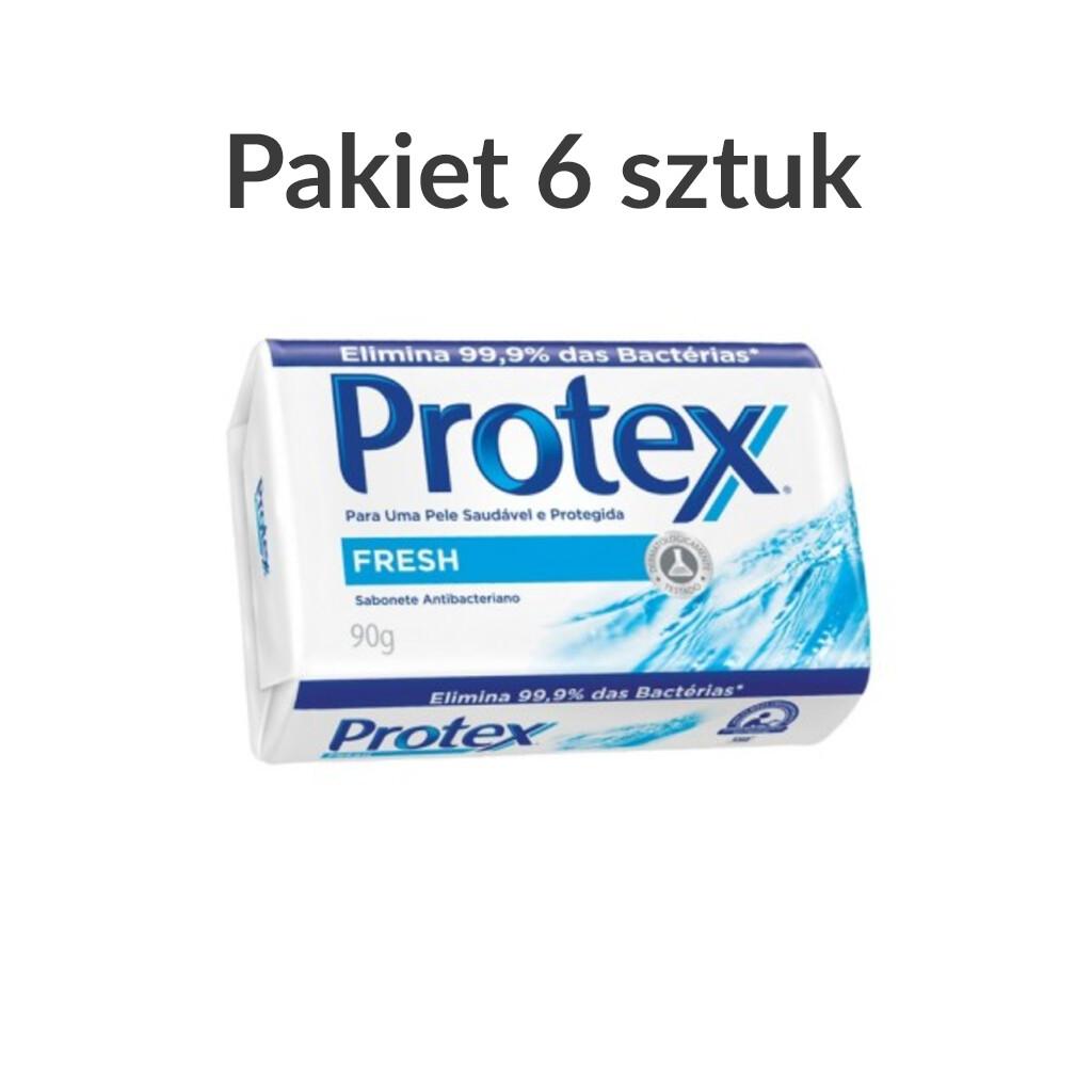 Mydło Protex Fresh antybakteryjne | 90g | Pakiet 6 sztuk