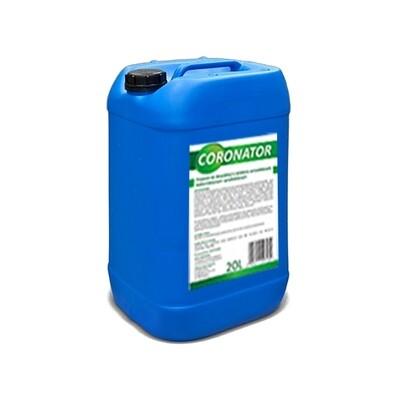 Płyn do dezynfekcji i mycia przestrzeni publicznych CORONATOR | 20L | 24 sztuk(paleta)