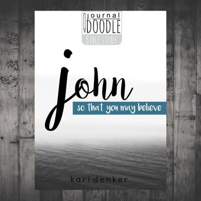 Journal and Doodle through John