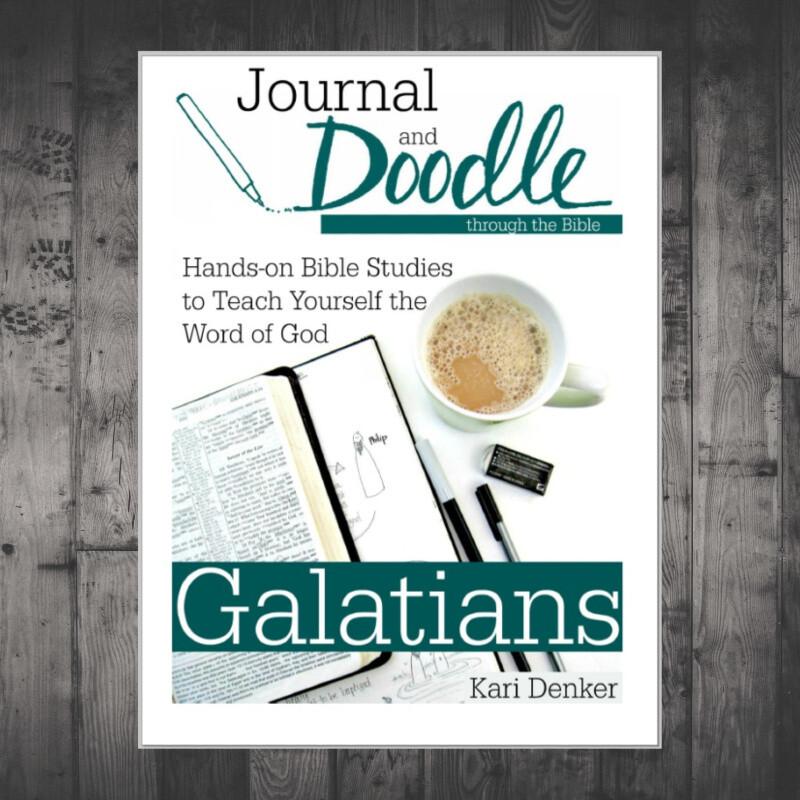 Journal and Doodle through Galatians