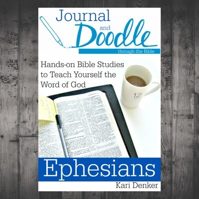 Journal and Doodle through Ephesians UPDATED