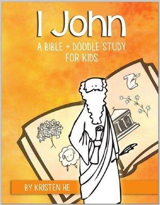KIDS - 1 John Kids Bible + Doodle Study