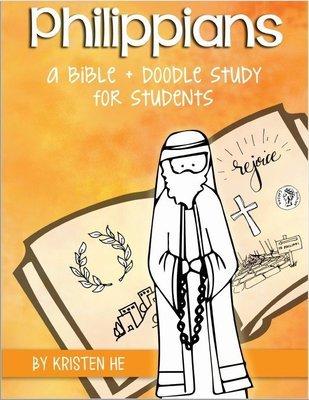 KIDS - Philippians Student Bible + Doodle Study