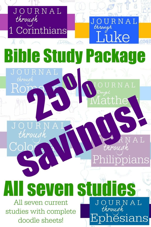 ORIGINAL-- Bible Study Package