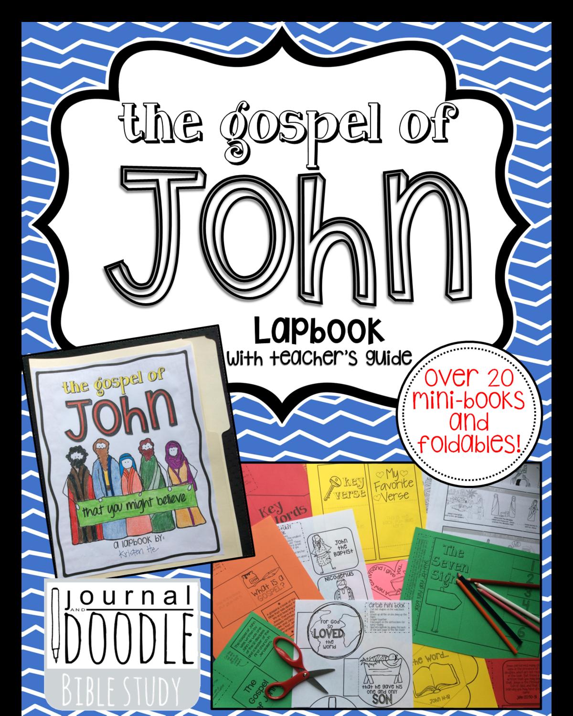 KIDS - Lapbook through the Gospel of John