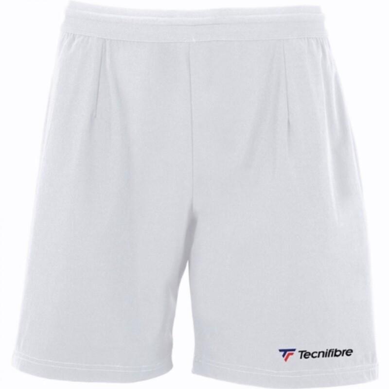 Tennishose, Tecnifibre Stretch Short, weiss