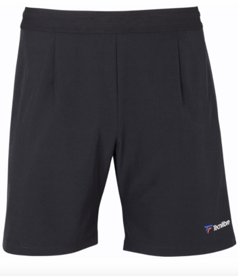 Tennishose, Tecnifibre Stretch Short, schwarz
