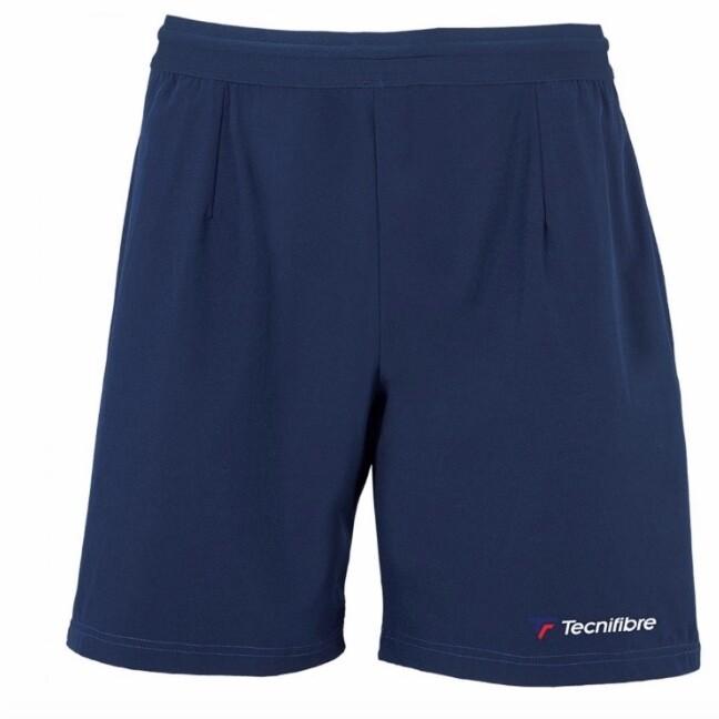Tennishose, Tecnifibre Stretch Short, marine (dunkelblau)