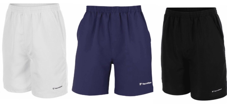 3er Set Tennishose, Tecnifibre Shorts Stretch