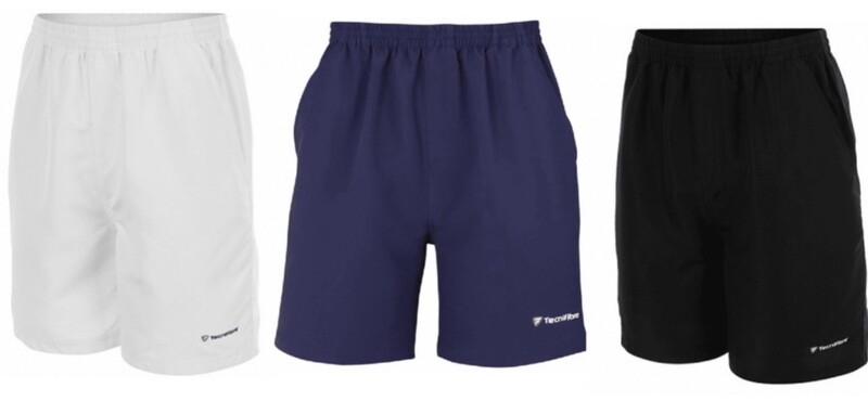 3er Set Tennishose, Tecnifibre Shorts Stretch