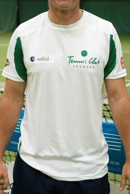 TC Froburg NLA-Shirt: weiss - grün