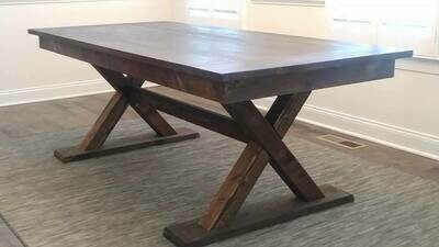 Canadian Trestle Table